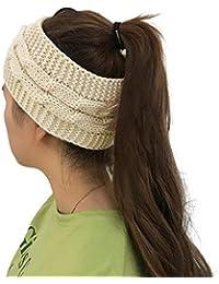 Taidor Cable Knit Head Wrap Bandeau Ceinture de Cheveux Chauffe-Oreille 27e015a6f72