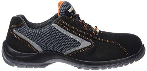 Exena ontario-calzature von Schutz der Arbeit Schwarz / Grau