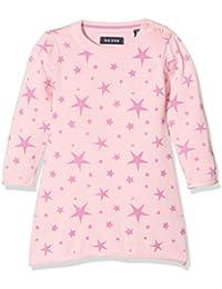 Blue Seven Mini Mädchen Strickkleid Mit Aufgedruckten Sternen, Robe Bébé Fille