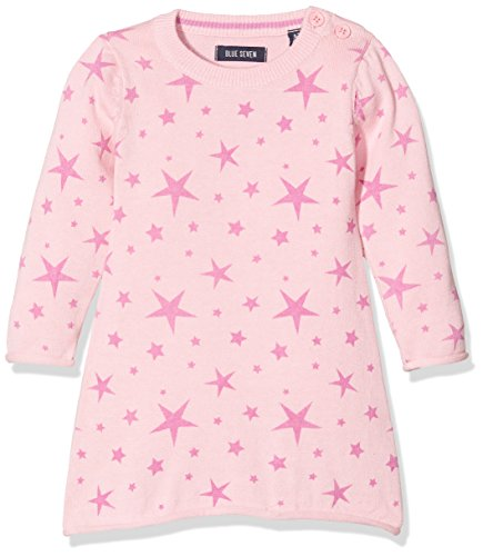 BLUE SEVEN Baby - Mädchen Kleid 963013 X *, Einfarbig, Gr. 86, Rosa (ROSA ORIG 405)