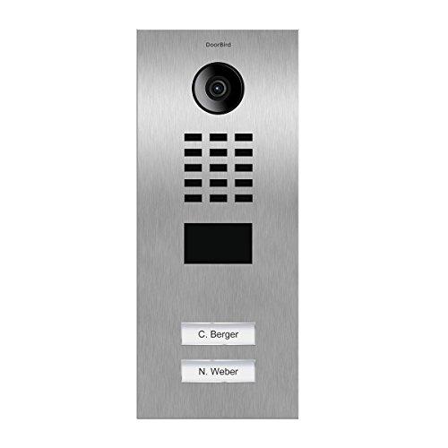 Doorbird D2102V Video-Zugangssystem, Edelstahl -