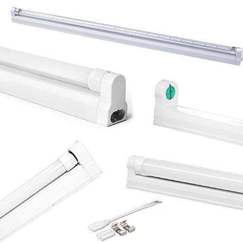 FuturPrint Plafonniers sous Meubles pour Tubes à LED T8 de 150 cm, réglettes empilables en Plastique pour plafonds, étagères, Cuisines, Meubles.