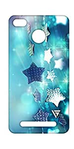 Vogueshell Stars Printed Symmetry PRO Series Hard Back Case for xiaomi Redmi 3s