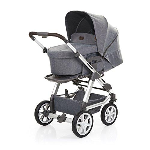 ABC Design Tereno 4 - Kombikinderwagen mit Lufträdern - 2in1 Kinderwagen Set - inkl. Babywanne &...