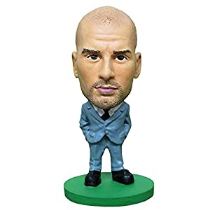 Soccerstarz- Figura de acción Guardiola, Color Verde (1)