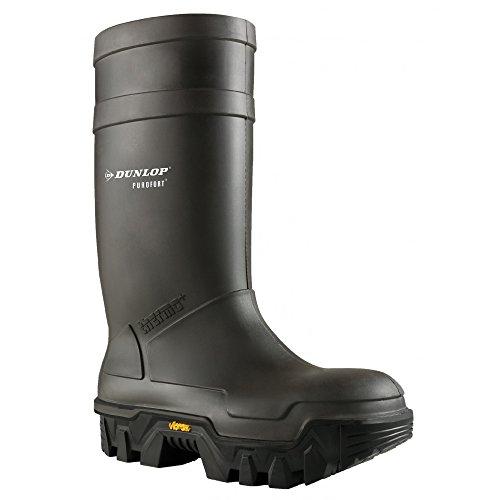 Dunlop Purofort Explorer C922033.05 - Stivali Antinfortunistici Unisex Carbone