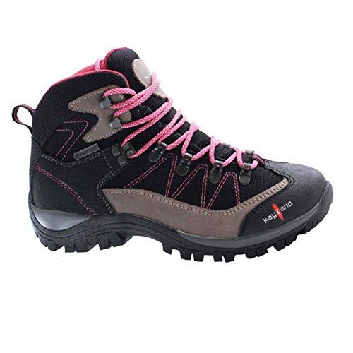 Kayland Ascent K Ws Gtx Zapatos Para Peatones / Trekking Mujer 018017070 Primavera Verano 2017 Bleck-magenta