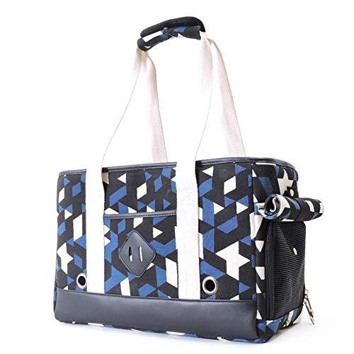 ZhujiaN Cat Backpack Carriers Pet Out Tragbare Handtasche Cat Cage Katzentasche Pet Cat Supplies (Color : Blue, Size : 42 * 18 * 28cm) -