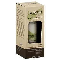 Aveeno Eye Cream, Lifting & Firming 0.5 oz (Pack of 3)