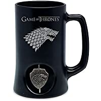 SD toys - Chope Game Of Thrones - Stark Noir Logo Rotatif - 8436546898030