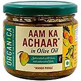 Organica Olive Oil Mango Pickle, 300g
