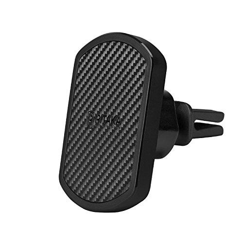 pitaka Handy KFZ Halterung [MagMount] Magnet Lüftung Autohalterung 360 Grad Rotation Robust & Langlebig Handyhalterung