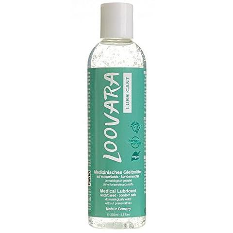Loovara Vegan Intimate Premium Lubricant 250ml–Water Based Condom Safe