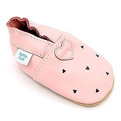 Dotty Fish Zapatos de Cuero...