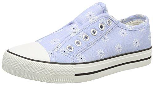 New Look - Maisey, Scarpe da ginnastica Bambina Blu (Blue (Mid Blue))