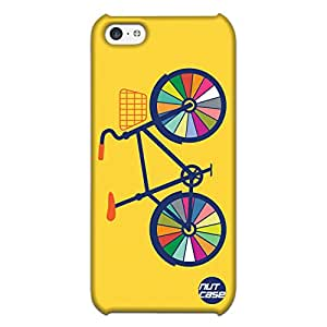 Colorful Cycle Wheels - Nutcase Designer iPhone 5 C Case Cover