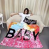 150X200Cm : Brand Ferret Cashmere Blanket Popular Brand Fleece Baby Design Super Warm Soft Throw On Sofa/Bed/Plane Travel Plaids