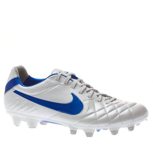 454316 140|Nike Tiempo Legend IV FG White|40 US 7 (Nike Tiempo Legend Iv)