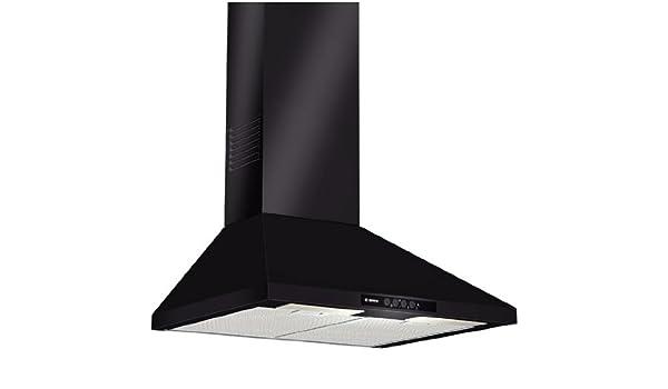 Bosch dww06w460 dunstabzugshaube für die wand halogen schwarz