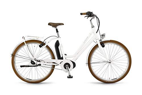 Unbekannt Winora Saya N7F 400 Damen Retro Pedelec E-Bike City Fahrrad weiß 2019: Größe: 52cm