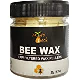 NatureSack's 100% Raw Unrefined Beeswax Pellets - 50gms