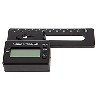 ADAALEN Digital Pitch Gauge For 450 RC Helicopter Quadcopter Airplane