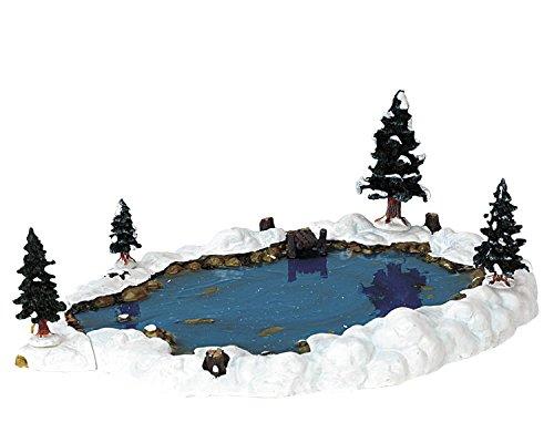 Accessori presepe di natale lemax lago laghetto artificiale presepe natalizio 94387