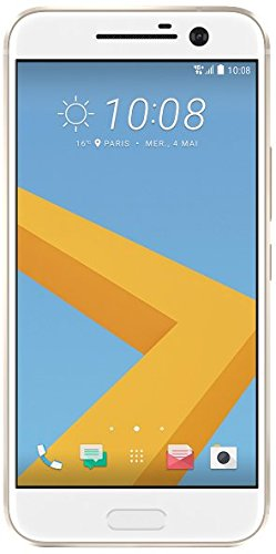 HTC diez 32GB - Smartphone de 5.2'' (Android 6, doce MP, RAM de cuatro GB, Qualcomm™ Snapdragon™ 820 ), color blanco width=