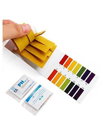 NiceButy - Lot de 160 languettes de test pour pH de 1 à 14
