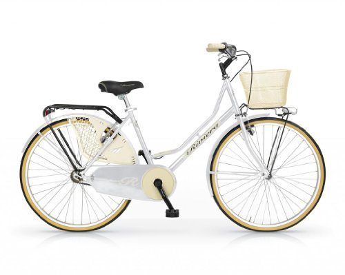 MBM RIVIERA WOMAN 24 H46 BICYCLE OLDSTYLE BIKE BICICLETA MUJER BLANCO