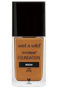 Wet 'n Wild Photo Focus Foundation, Mocha Moka, 30ml