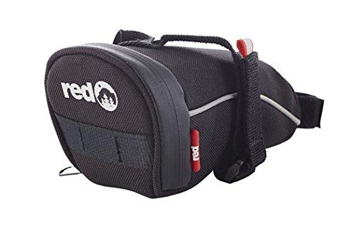 Red Cycling Products Turtle Bag Satteltasche L schwarz 2018 Fahrradtasche