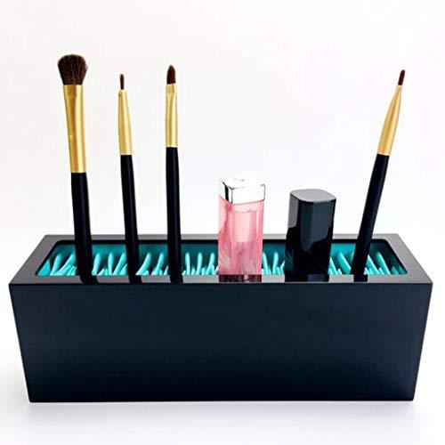 Schmuckkasten,Rifuli® Make up Pinsel Aufbewahrungsbox Kosmetische Aufbewahrungsbox Desktop Briefpapier Aufbewahrungsbox Stiftablagen Bürobedarf Schreibwaren Büromaterial