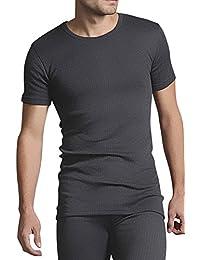 Heat Holders - Homme chaud hiver coton sous-vêtements thermiques manche courte t shirt