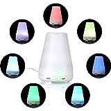 Incutex Ultraschall Luftbefeuchter Raumbefeuchter Aroma diffuser mit LED Licht und Nebel