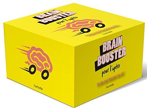 Boite Brain booster pour l'apéro: Musclez votre cerveau à l'apéro !