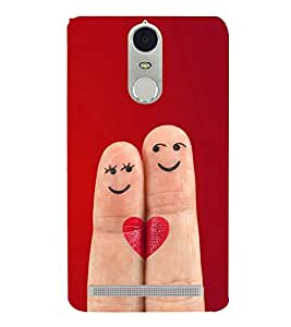 Smiley Fingers 3D Hard Polycarbonate Designer Back Case Cover for Lenovo K5 Note :: Lenovo Vibe K5 Note Pro