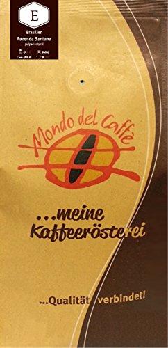 Brasilien Fazenda Santana (dunkle Röstung) pulped natural, Single Origin, Spitzenkaffee (500 gr.)
