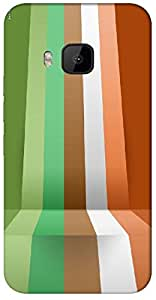 Timpax protective Armor Hard Bumper Back Case Cover. Multicolor printed on 3 Dimensional case with latest & finest graphic design art. Compatible with HTC M9 Design No : TDZ-23610