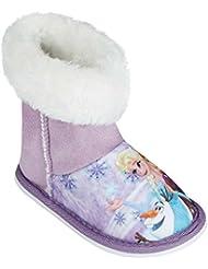 Disney La Reine des neiges Fille Chaussons 2016 Collection - pourpre