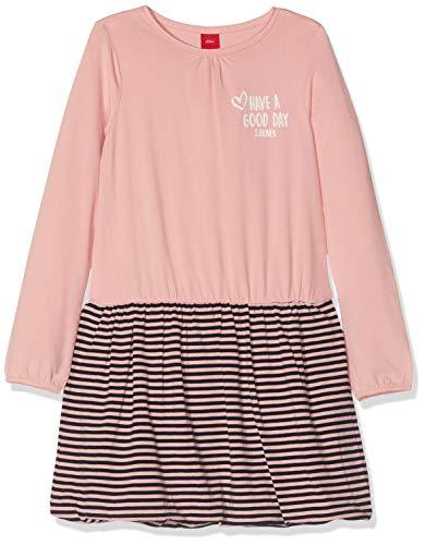 s.Oliver Mädchen 58.908.82.2940 Kleid, Rosa (Light Pink Rosa 4273), 128 (Herstellergröße: 128/REG) -