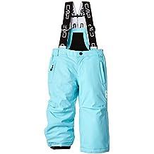 CMP - Pantalones de esquí para niños, color turquesa (turkish), talla 128