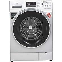 IFB 8kg 5 Star Fully-Automatic Front Loading Washing Machine (Senator WXS, Silver, Inbuilt Heater, Aqua Energie water softener)