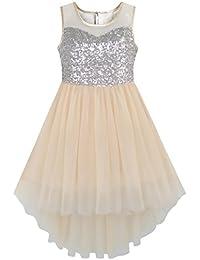 79dba5c68 Amazon.co.uk  Beige - Dresses   Girls  Clothing