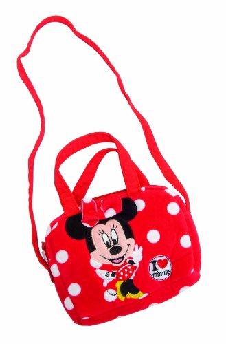 Disney Minnie 1300261 Minnie Borsetta con Tracolla Peluche