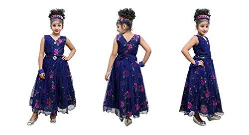 Flower girl dress, Evening GOWN for kids - FANCY, Party wear, long...