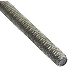 Form A Feingewinde 1000 mm lang M 24 x 2-1 S Gewindestange DIN 976-1 Stahl bl
