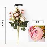 SOQHD Kunstseide-Blumen-Hochzeit Hauptdekoration Blume künstliche Blume (Color : Pink)