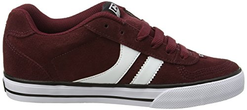 Globe Herren Encore-2 Low-Top Mehrfarbig (Wine/white)