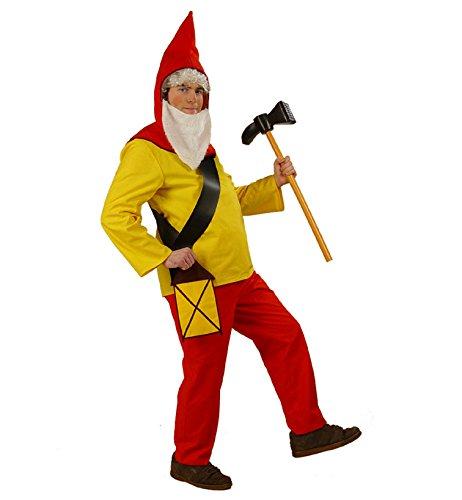 Gurimo-Tex 108044 - Zwerg Purzelbaum Kostüm, XXL